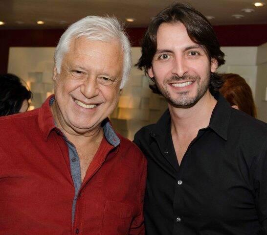 Antônio Fagundes e Carlos Marin