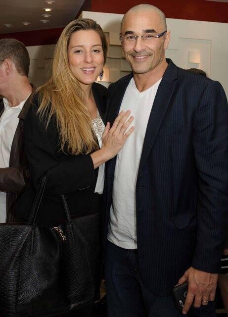 Luhanna Melloni e Luciano Szafir