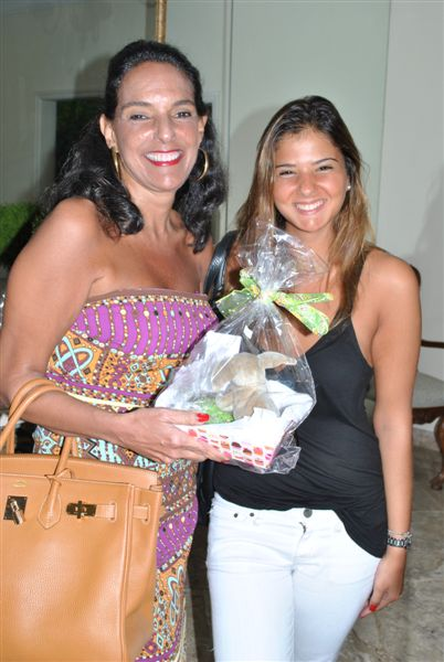 Milu e Eduarda Camarão