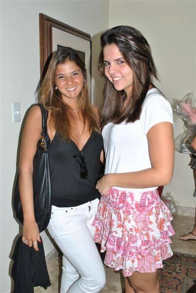 Eduarda Camarão e Isabela Santos Reis