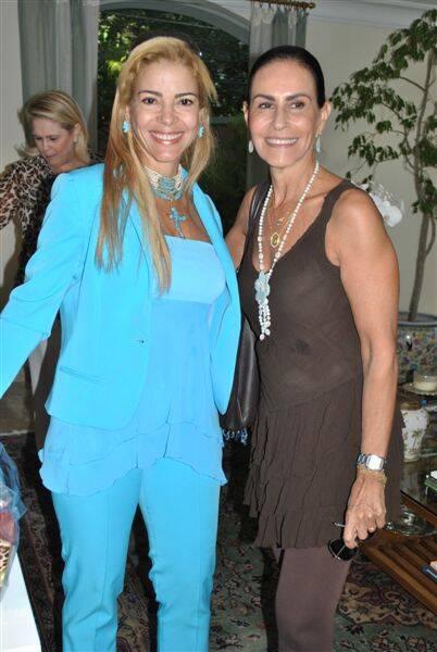 Manuela Ferrari e Beth Ppinto Guimarães