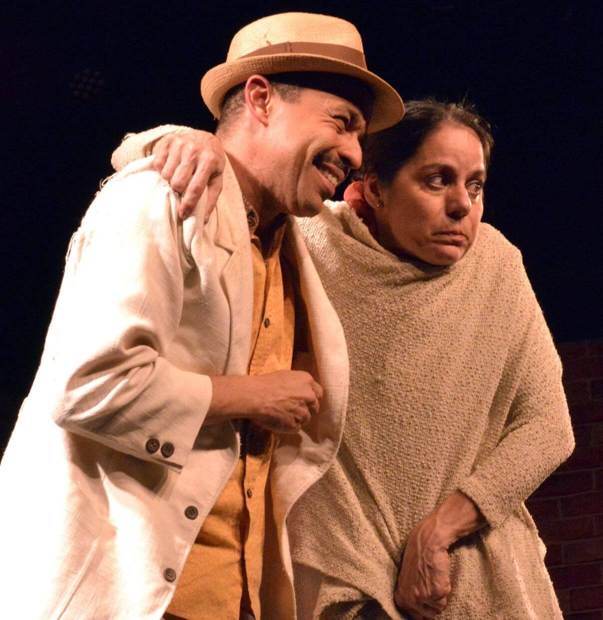 Édio Nunes e Claudia Mauro  /Foto: Cristina Granato