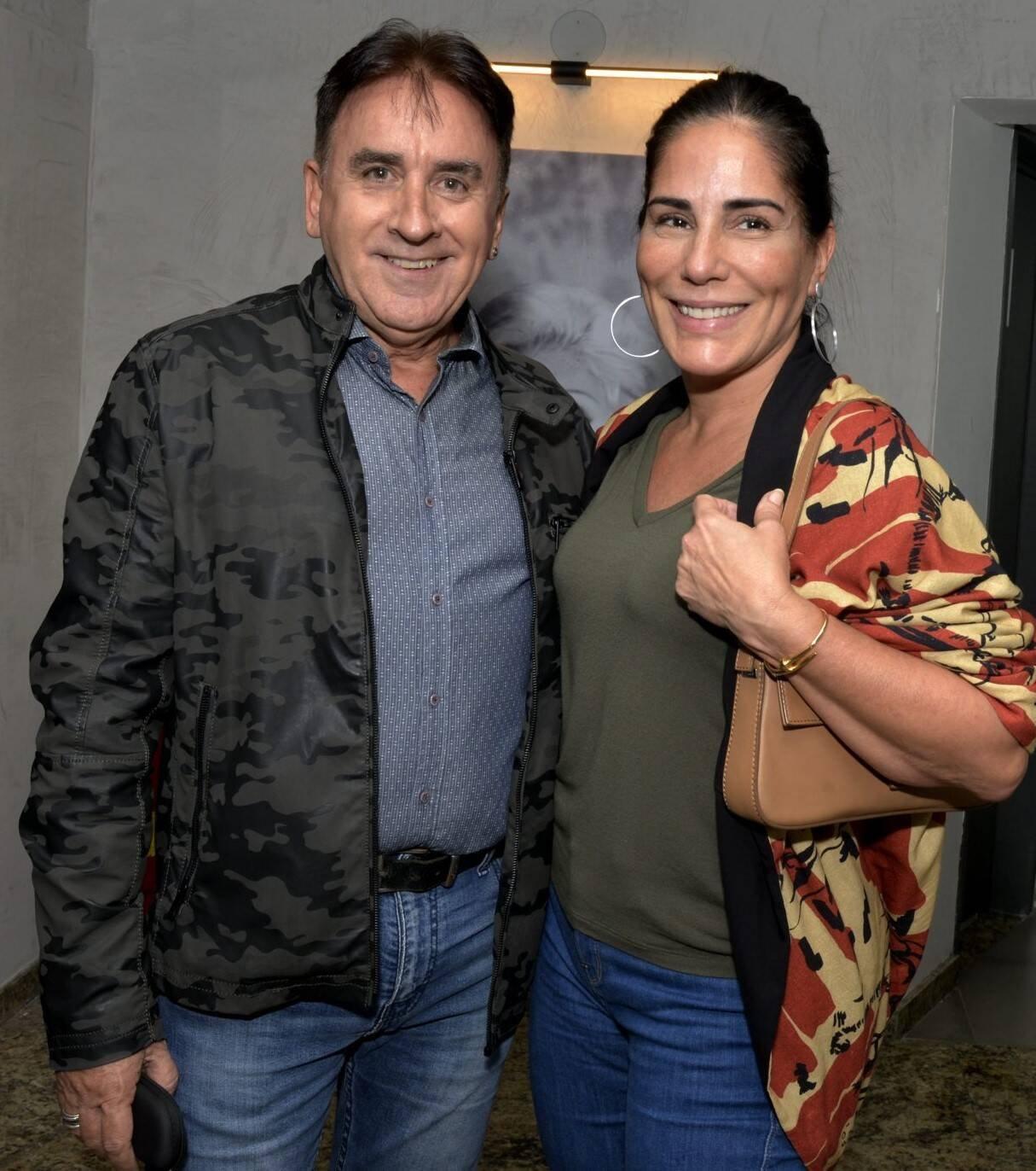 Claudio Rangel e Glória Pires  /Foto: Cristina Granato