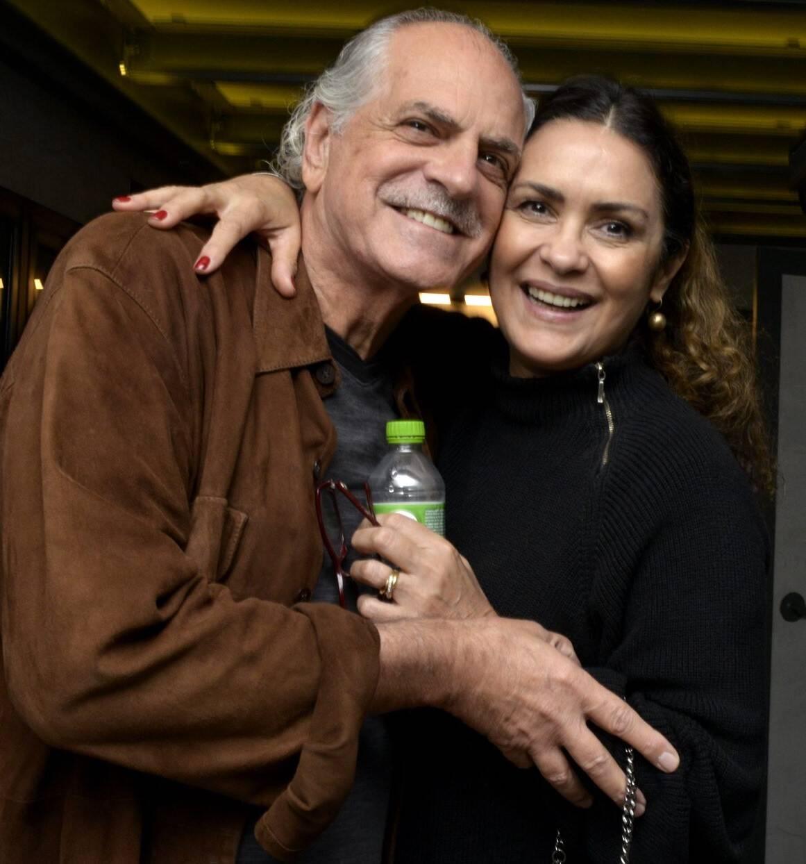 O casal Edison e Cléo  Coelho  /Foto: Cristina Granato