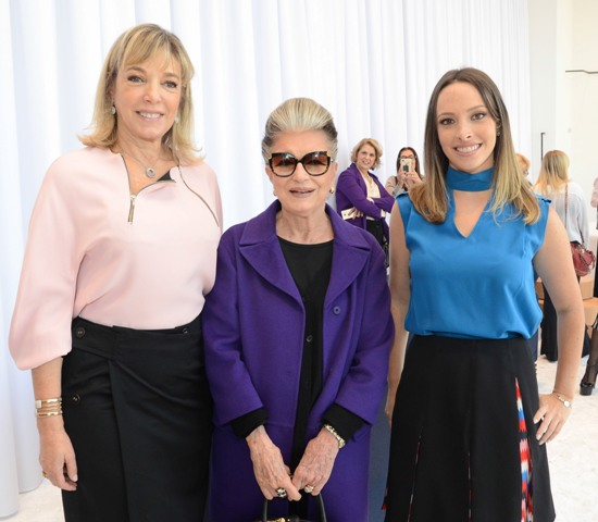 Anette Rivkind, Costanza Pascolato e Giselle Rivkind