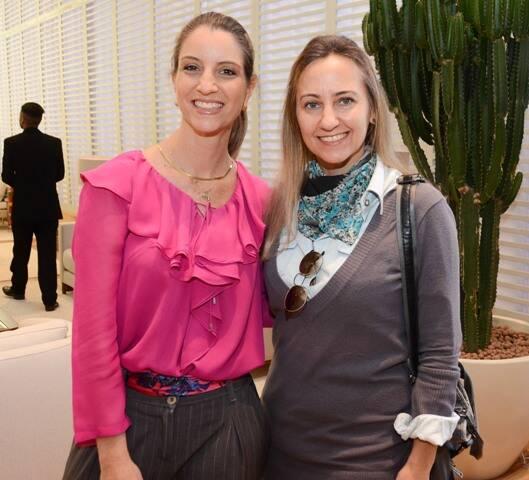 Claudia Krakowiak e Ana Cristina Tavares