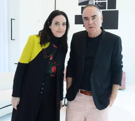 Flávia Lafer e Reinaldo Lourenço