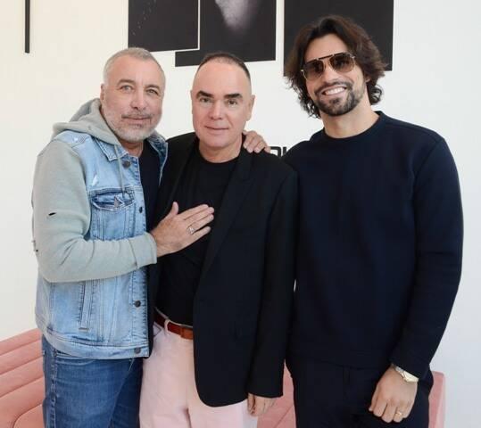 Sig Bergamin, Reinaldo Lourenço e Murilo Lomas