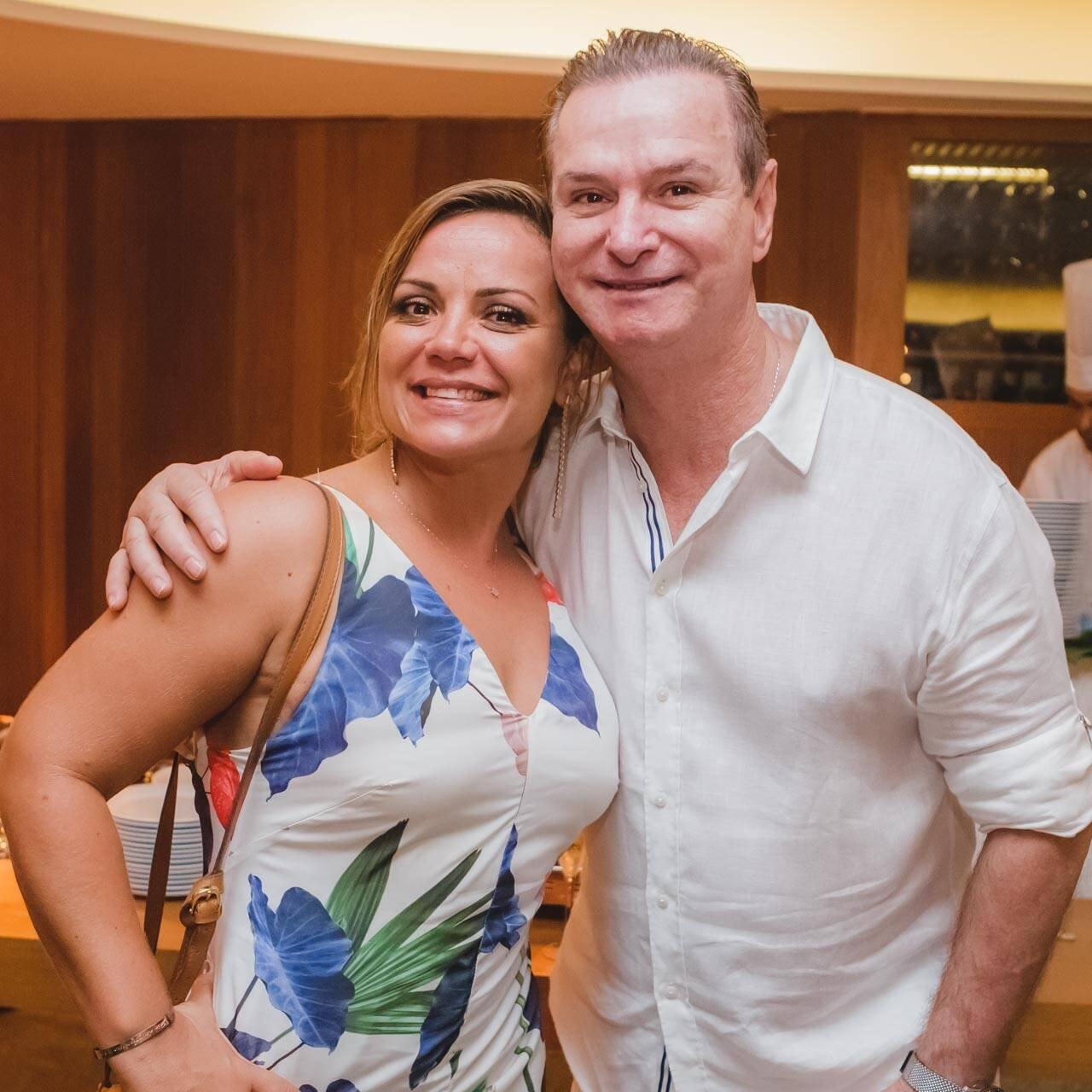 Paula Simonsen e Marcio Alaor Araújo