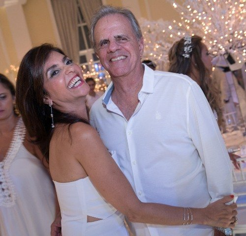O casal Ana Cristina Villaça e Fábio Nahoum