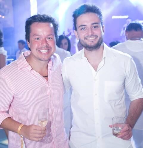 Guto Queiroz e Louis Natal
