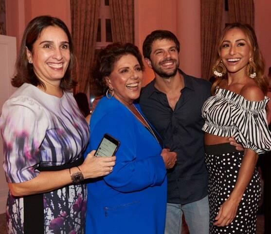 Andrea Dantas, Leda com Duda Nagle e Sabrina Sato