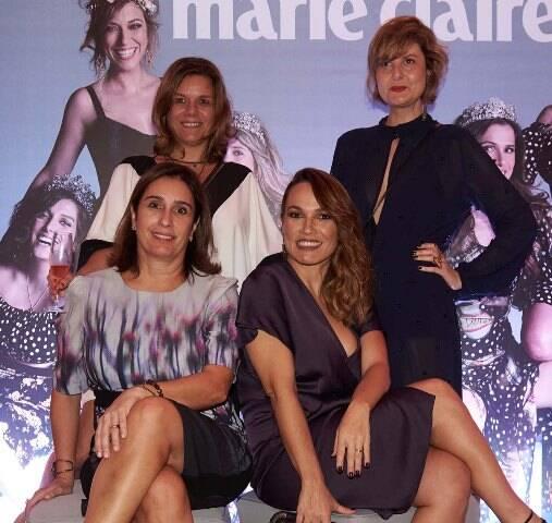Andrea Dantas, Marina Caruso, Roberta Monta e Larissa Luchese