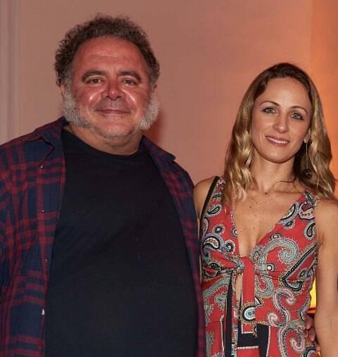 Leo Jaime e Daniela Lux
