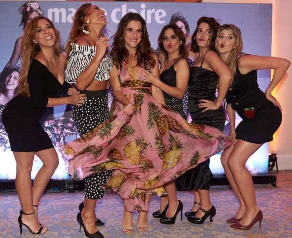 Júlia Rabello, Sabrina Sato, Ingrid Guimarães, Tatá Werneck, Clarice Falcão e Dani Calabresa