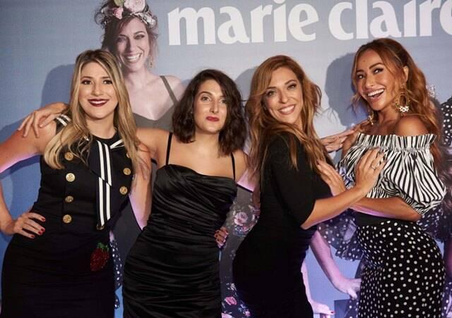 Dani Calabresa, Clarice Falcão, Júlia Rabello e Sabrina Sato