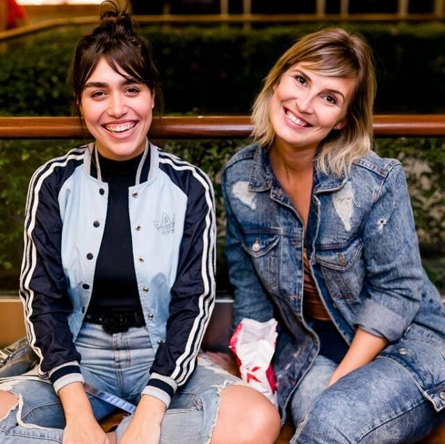 Juliana Costa Pereira e Bruna Slaviero