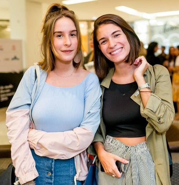 Juliana Lattuca e Louise Miranda