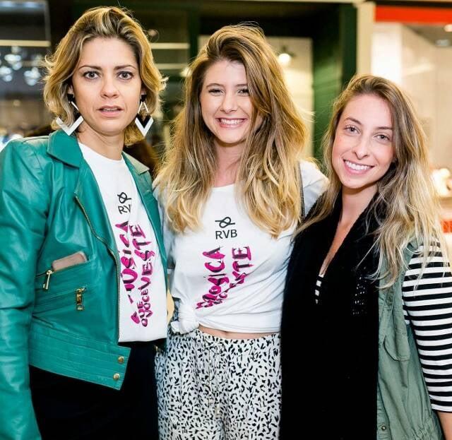 Karine Fernandes, Andrea Verbicario, Mariana Oliveira