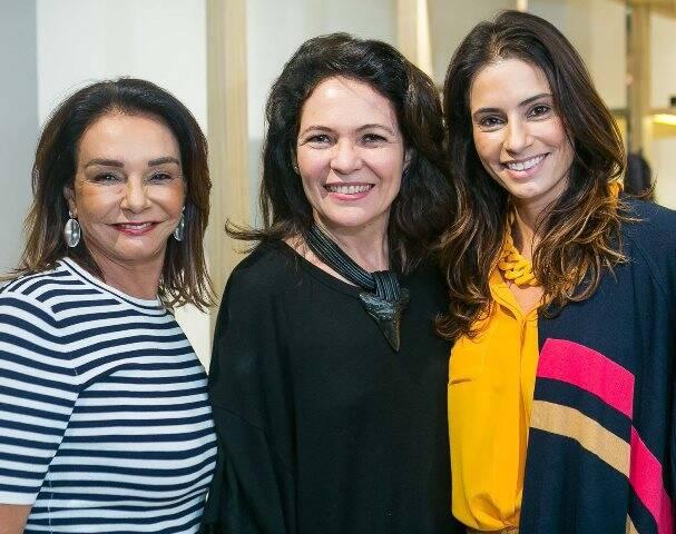 Ângela Coutinho, Roberta Damasceno e Carla Coutinho