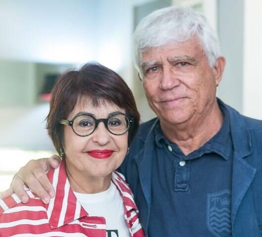 Aspásia Camargo e Tom Pessoa de Araujo