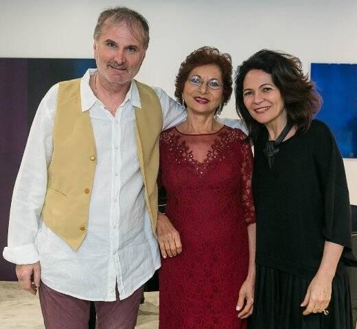 Bruno Donati, Dília Tosta e Roberta Damasceno