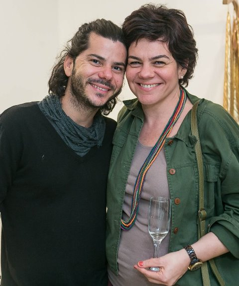 Dirceu Nochelli e Fernanda Magalhães