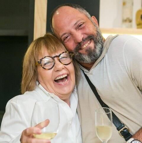Cecy Kramer e Vitor Maia
