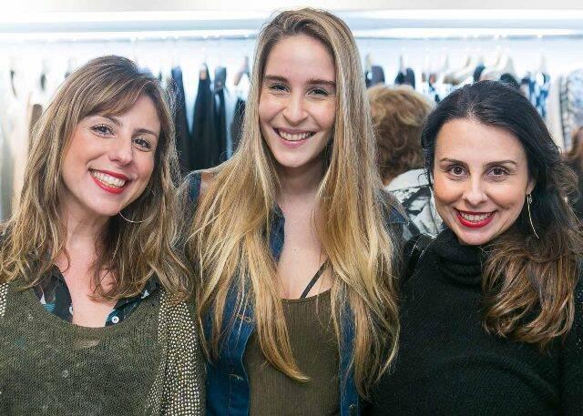 Fabiana Pomposelli, Juliana Lattuca e Hellen Pomposelli