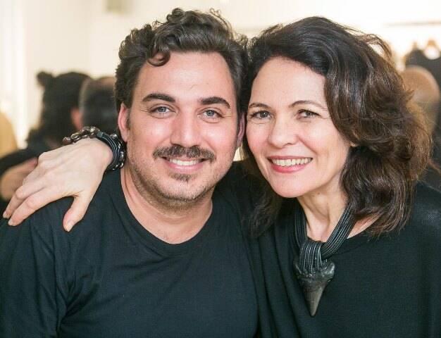 Guto Carvalho Neto e Roberta Damasceno