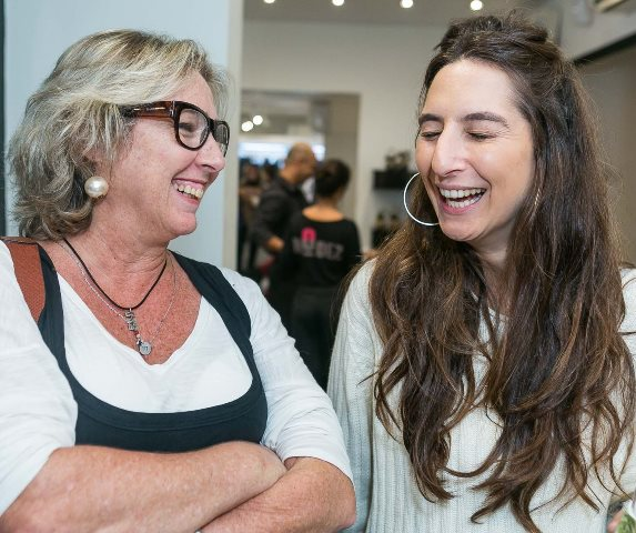 Leila Frydman e Rena Benveniste