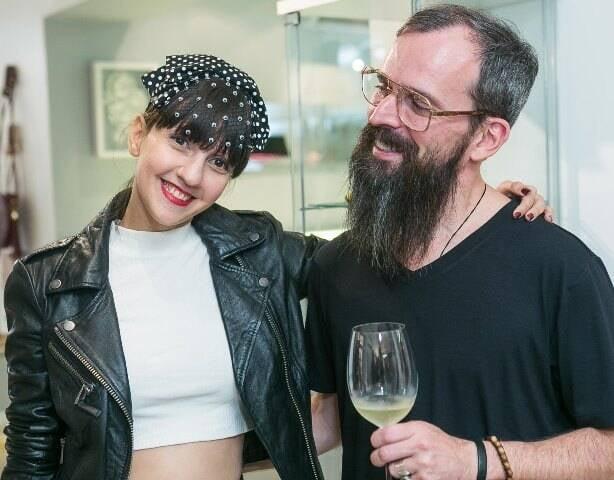 Naruzka Varela e Igor Saboia