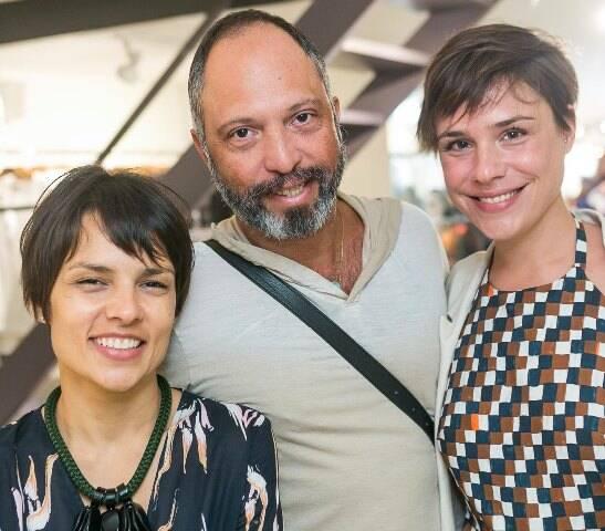 Patrícia Marques, Vitor Maia e Camila Médici