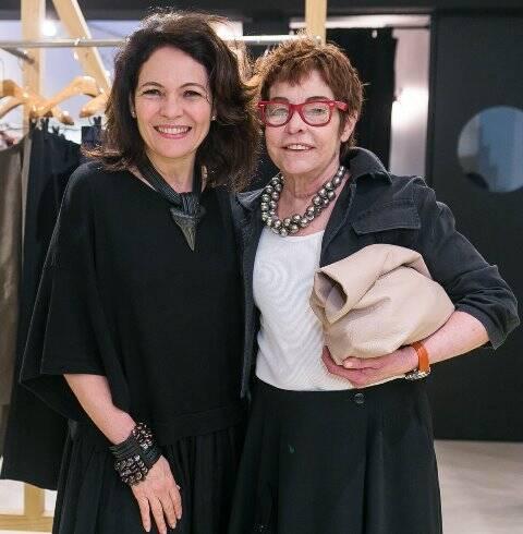 Roberta Damasceno e Cristina Peçanha