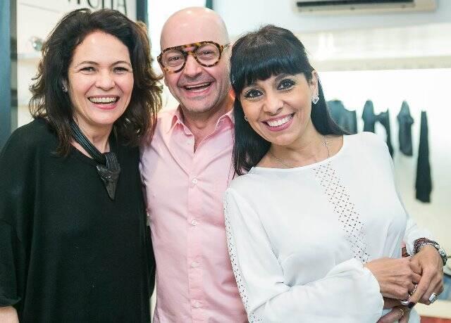 Roberta Damasceno, Francisco e Deborah Ventura