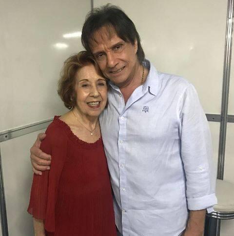 Cora Zobaran e Roberto Carlos