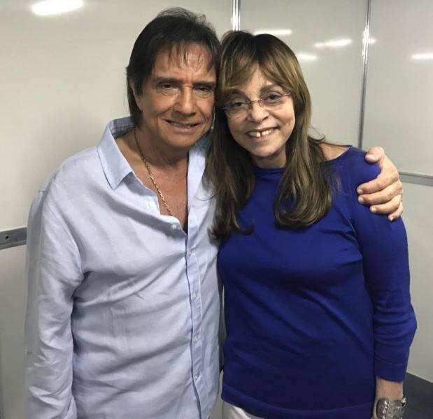 Roberto Carlos e Gloria Perez