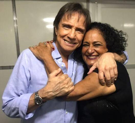 Roberto Carlos e Thais Garayp