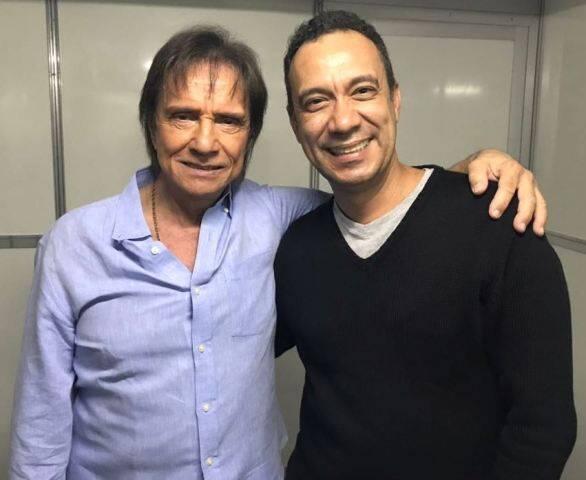 Roberto Carlos e Fábio Júdice