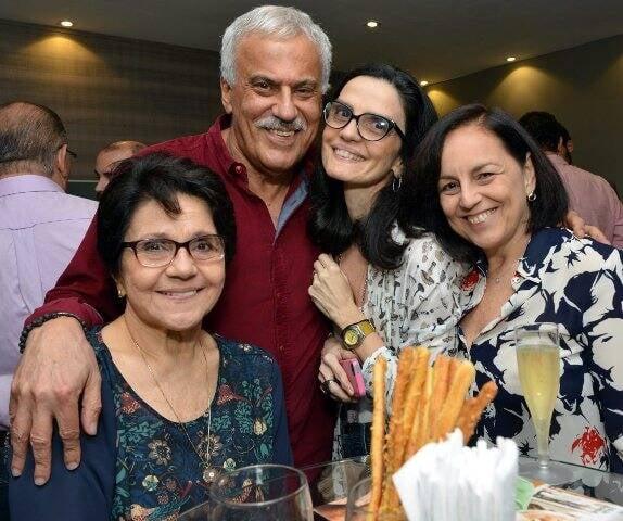 Vanisa Santiago, Danilo Caymmi, Belinha Almendra e Maria Rita Araújo