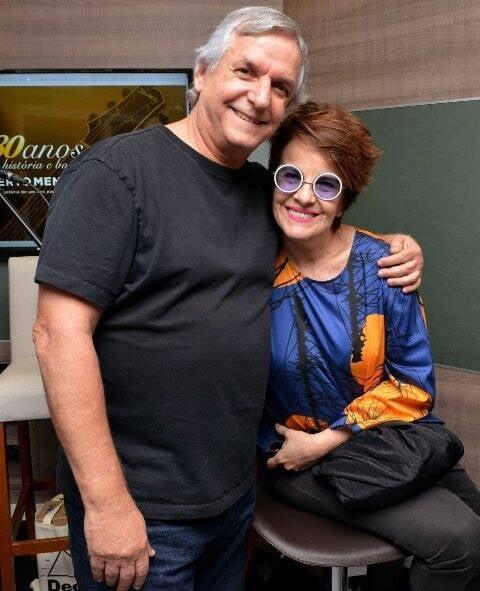 João Augusto e Leila Pinheiro
