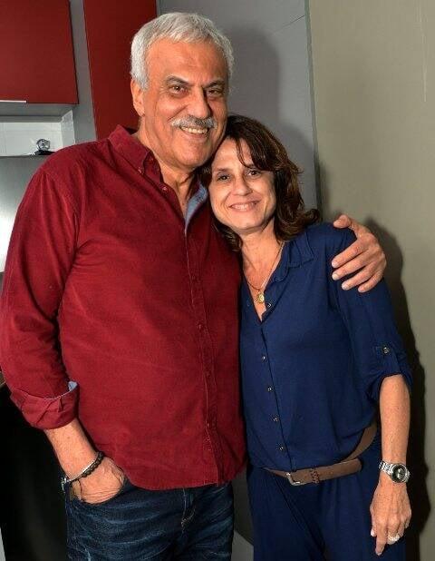 Danilo Caymmi e Giselle Kfuri