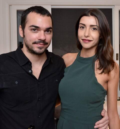 Antonio Frugiuele e Adriana Pintor