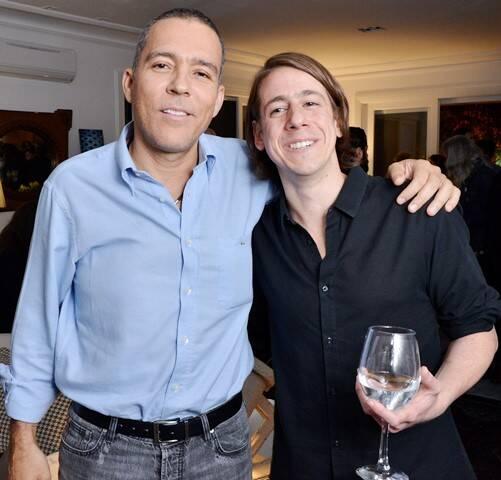 Cristobal Caicedo e João Cury