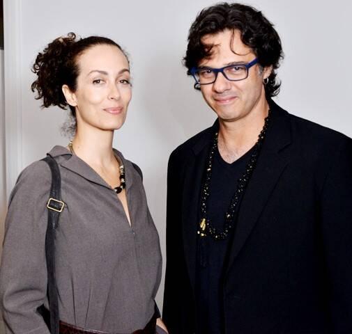 Veridiana Aleixo e Fabio Delduque