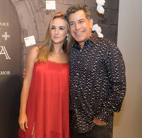 Luiz Calainho e Larissa Gontijo