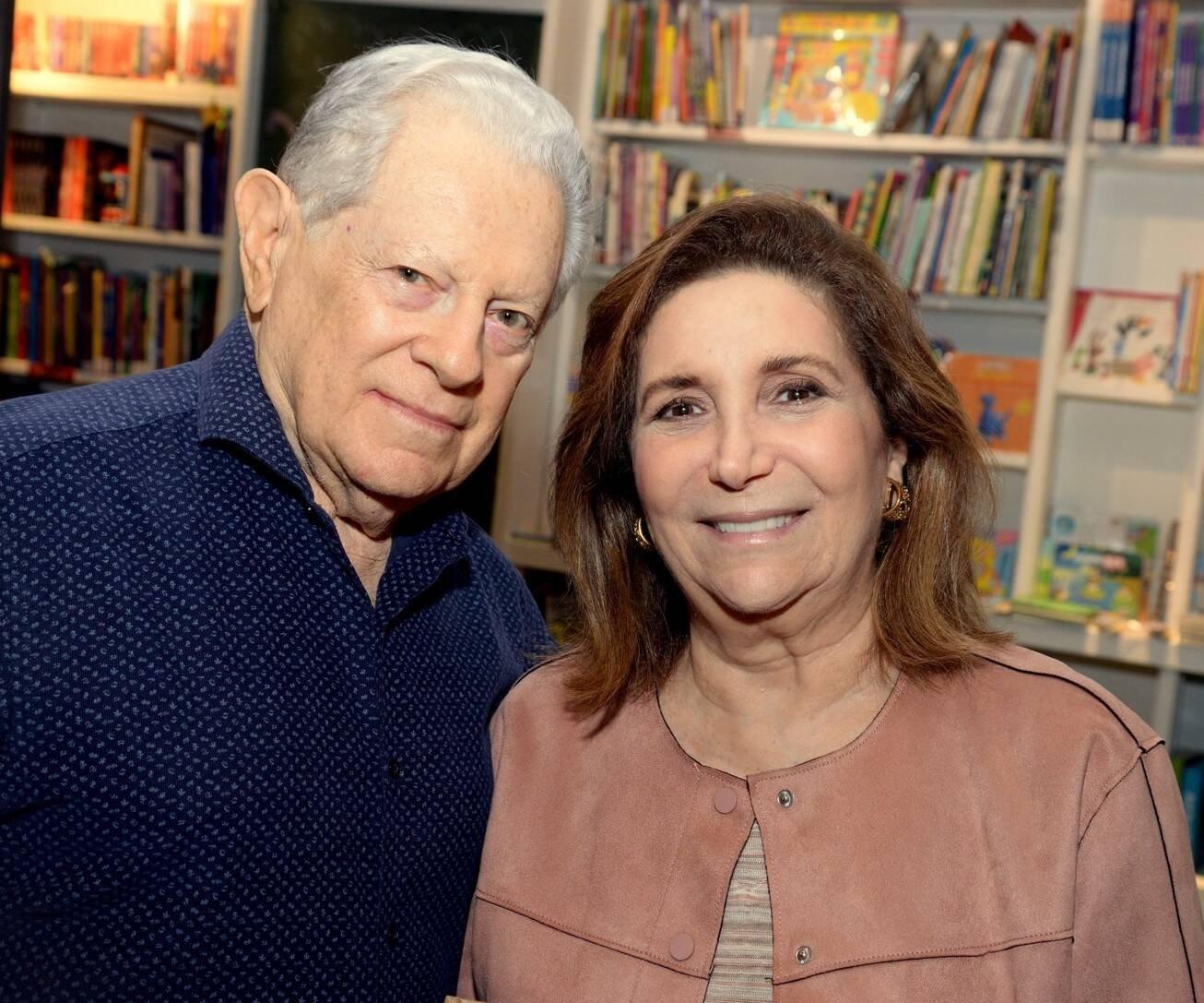 Arnaldo e Ruth Niskier /Foto: Leo Marinho
