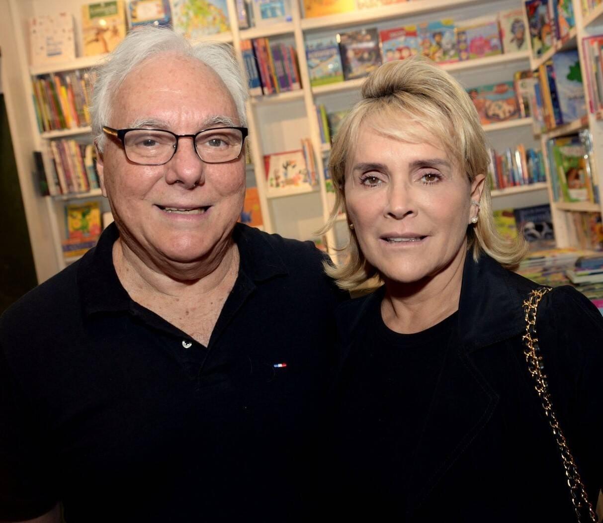 Luiz Antonio Secco e Denise Bastos /Foto: Leo Marinho