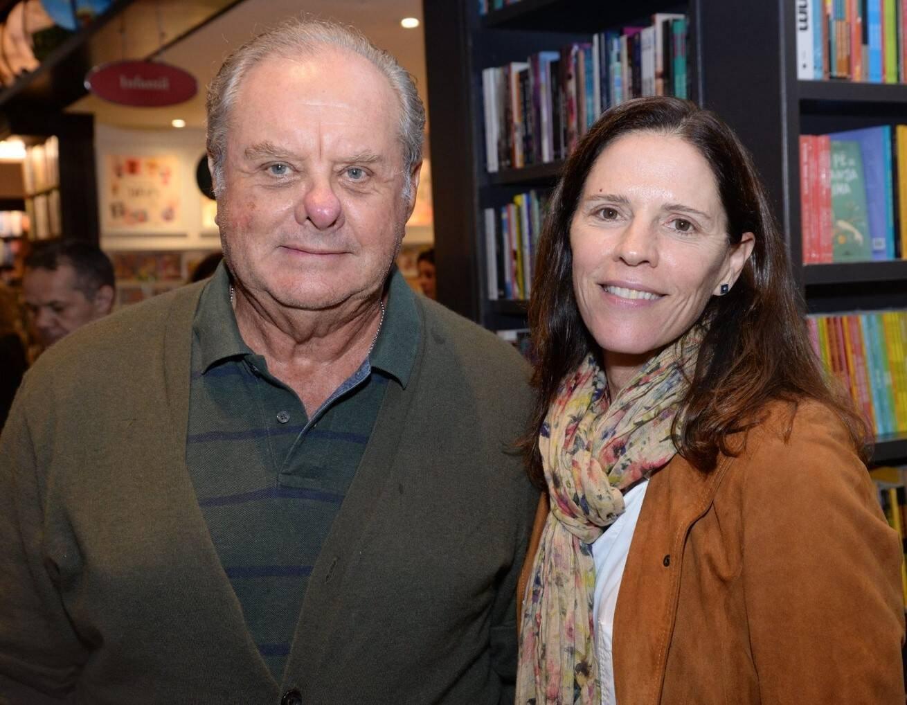 Sergio Alberto e Mariana Monteiro de Carvalho /Foto: Leo Marinho