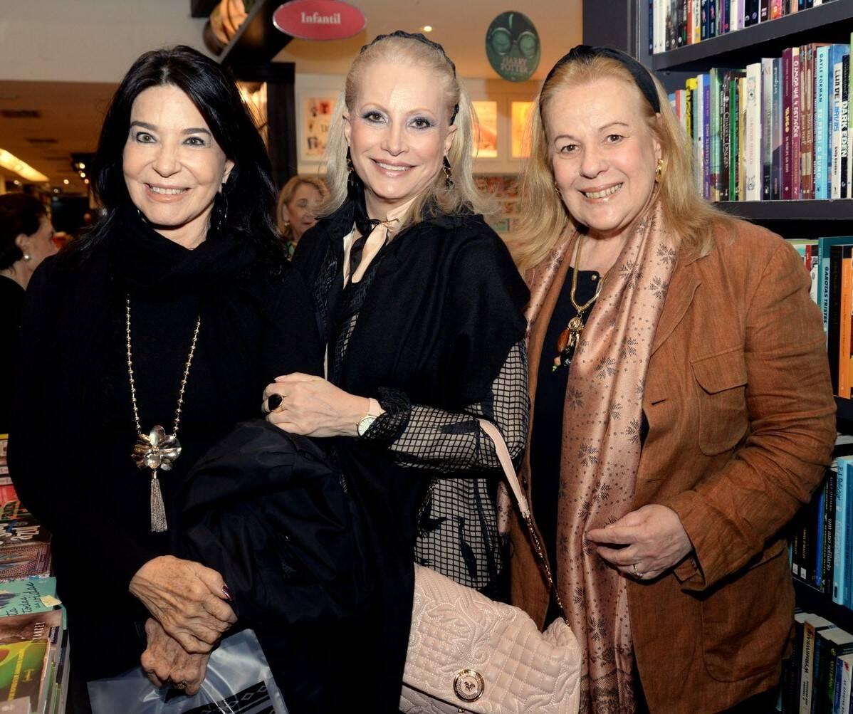 Teresa Aczel, Tânia Drummond e Sueli Lobo Lima /Foto: Leo Marinho